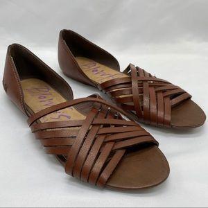 Blowfish Leather Hurache Sandals 7